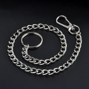 Other - Hip Wallet Holder Silver Clip Chain Metal - Firm